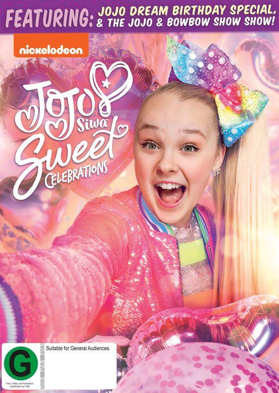 Jojo Siwa - Sweet Celebrations on DVD