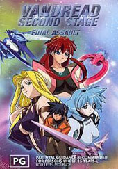Vandread - Second Stage Vol. 4 - Final Assault on DVD