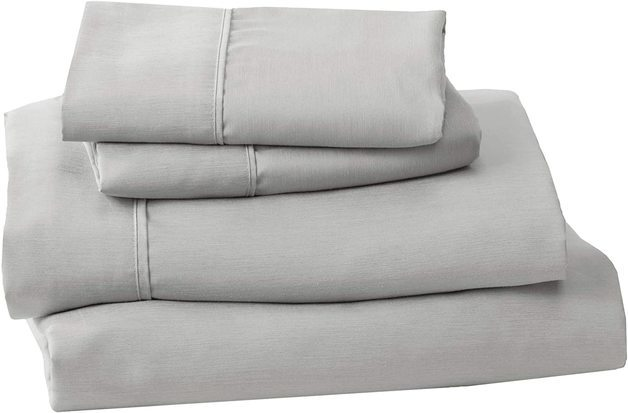 Fraser Country: Premium Microfibre King Single Bed Sheet Set - Grey