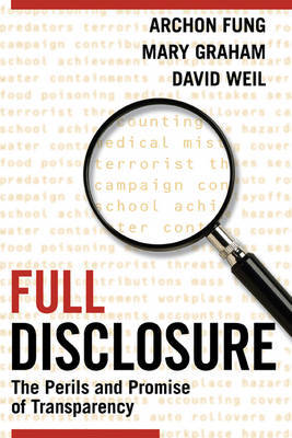 Full Disclosure by Archon Fung image