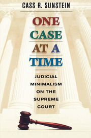 One Case at a Time by Cass R Sunstein