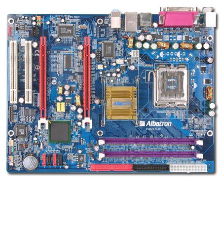 ALBATRON PX915DV LGA775 2X PCIE+SATA+LAN+7.1SND