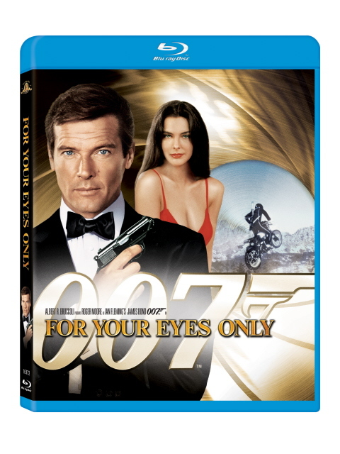 For Your Eyes Only on Blu-ray