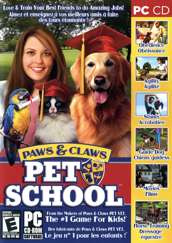 Paws and Claws Pet School for PC Games