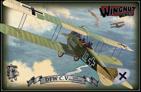 Wingnut Wings 1/32 DFW C.V Late Model Kit