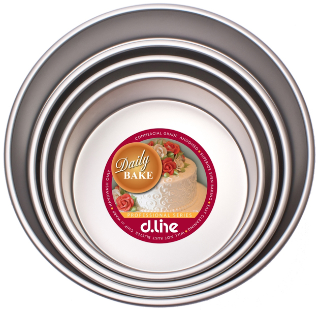 Anodised Deep Round Cake Pan (25cm x 7.5cm)