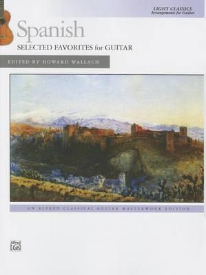 Spanish -- Selected Favorites for Guitar image