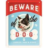 Nostalgic Art Tin Sign - Beware of the Dog