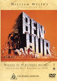 Ben Hur on DVD image