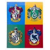 Harry Potter: House Crest Canvas Art