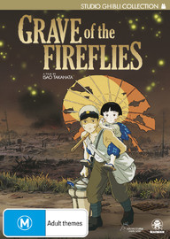 Grave of the Fireflies on DVD