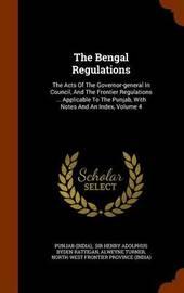 The Bengal Regulations by Punjab (India) image