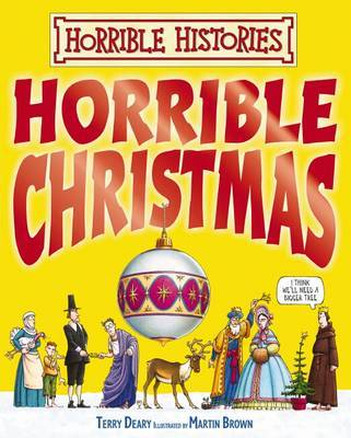 Horrible Christmas by Terry Deary image
