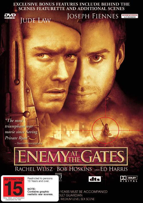 Enemy At The Gates on DVD image