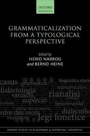 Grammaticalization from a Typological Perspective image