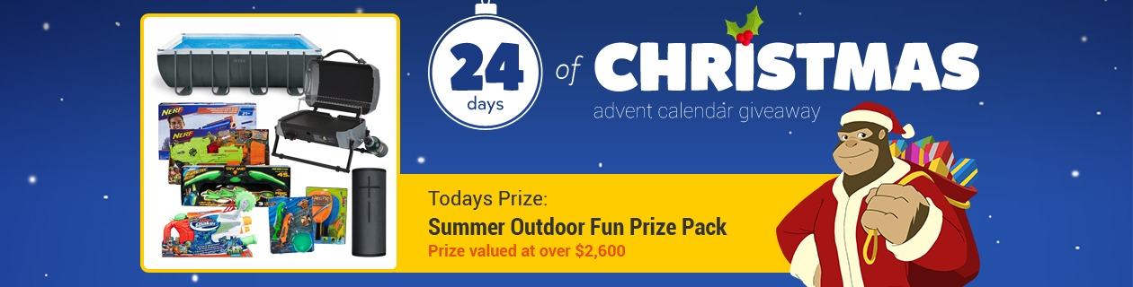 24 Days: Summer Outdoor Fun Prize Pack