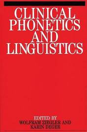 Clinical Phonetics and Linguistics image