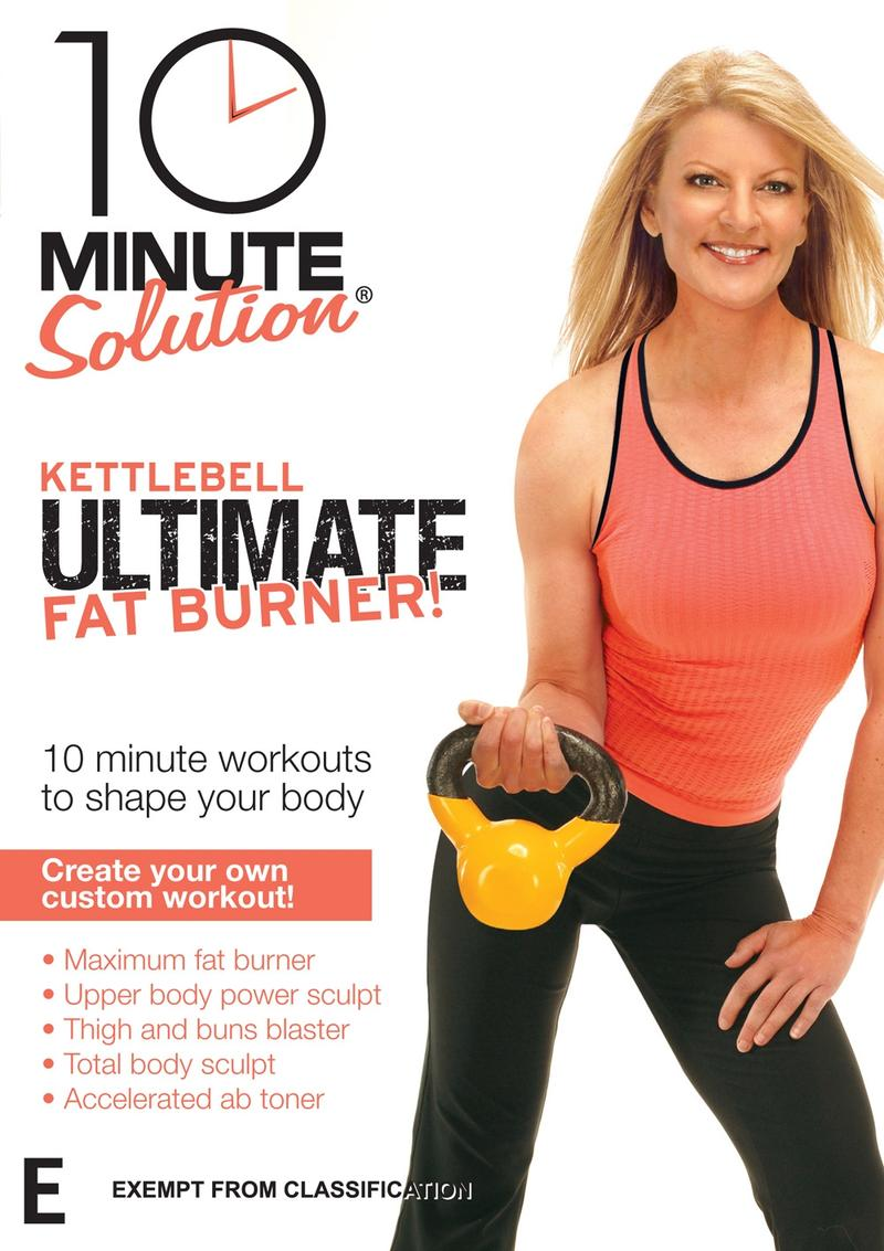 10 Minute Solution - Kettlebell Ultimate Fat Burner - DVD