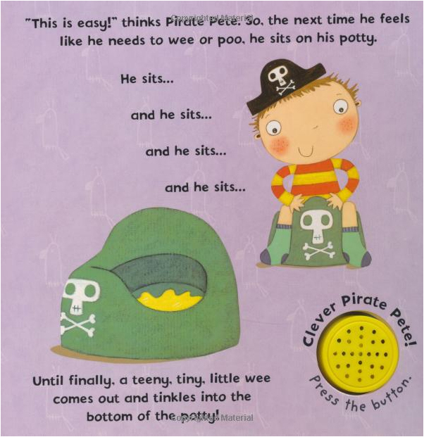 Pirate Pete's Potty: A Ladybird potty training book by Andrea Pinnington image
