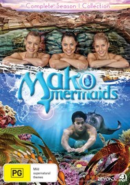 Mako Mermaids - Complete Season 1 Collection on DVD