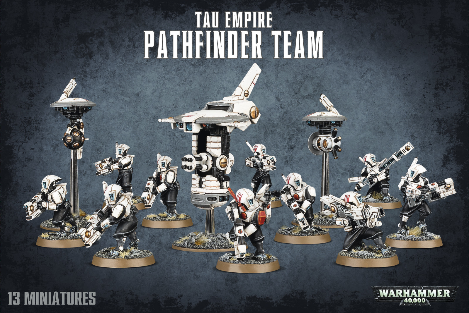Warhammer 40,000 Tau Empire - Pathfinder Team image