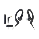 Audio-Technica ATH-SPORT1iS Earphones - Black
