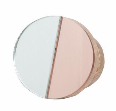 General Eclectic Medium Wooden Hook - DuoTone Mirror