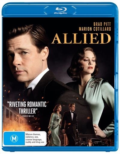 Allied on Blu-ray