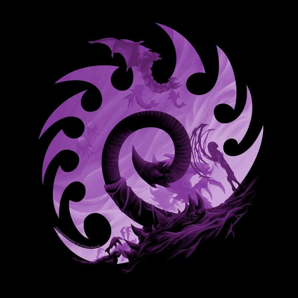starcraft 2 zerg symbol