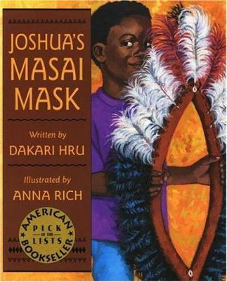 Joshua's Masai Mask by Dakari Hrabi