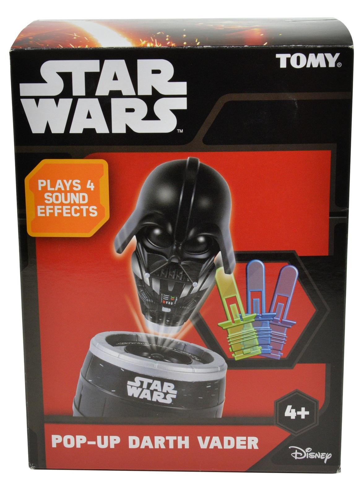 Tomy Star Wars: Pop Up Darth Vader Game - (AU Ver.) image