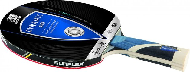 Sunflex Table Tennis Bat Dynamic A40