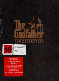 Godfather, The DVD Collection (5 Disc Set) on DVD image