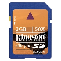 Kingston 2GB Elite Pro SD Card 50x image