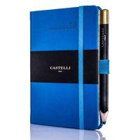 Castelli: Tucson French Blue 2019 Ivory Pocket Weekly Diary