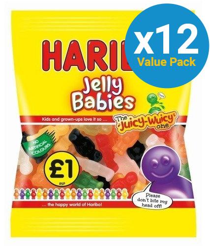 Haribo: Jelly Babies (180g) 12pk
