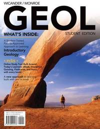 Geol (with Review Cards and Printed Access Card) by James S Monroe image
