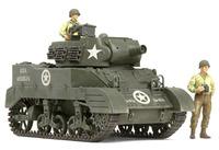 "Tamiya U.S. Howitzer Motor Carriage M8 ""Awaiting Orders"" 1/35 Model Kit image"