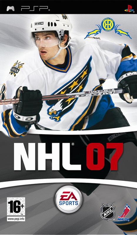 NHL 07 for PSP