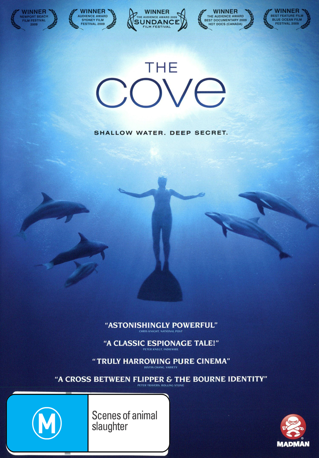 The Cove on DVD image