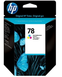 HP No. 78 Tri Colour Ink Cartridge image