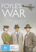 Foyle's War - Season 2 (4 Disc Set) on DVD