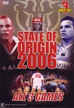 NRL - State Of Origin: 2006 - All 3 Games (3 Disc Set) on DVD