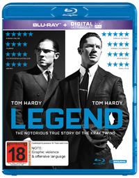 Legend on Blu-ray