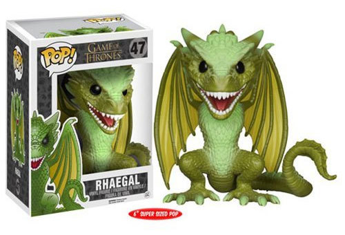 "Game of Thrones - Rhaegal Dragon 6"" Pop! Vinyl Figure image"