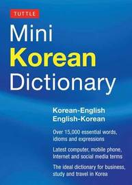 Tuttle Mini Korean Dictionary by Tuttle Editors