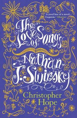 The Love Songs of Nathan J. Swirsky by Christopher Hope image