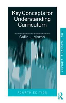 Key Concepts for Understanding Curriculum by Colin J. Marsh image