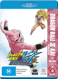 Dragon Ball Z Kai: The Final Chapters - Part 3 (eps 48-71) on Blu-ray