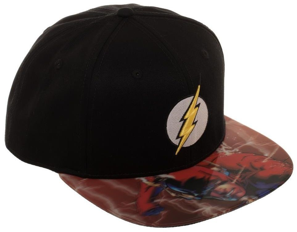 69fdcfd97f5 ... DC Comics  The Flash Lenticular - Snapback Cap image ...
